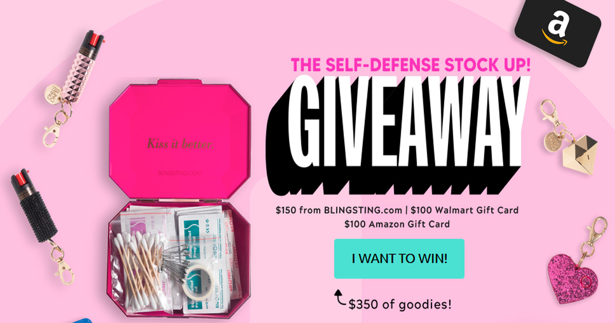 The Self Defense Stock Up Giveaway