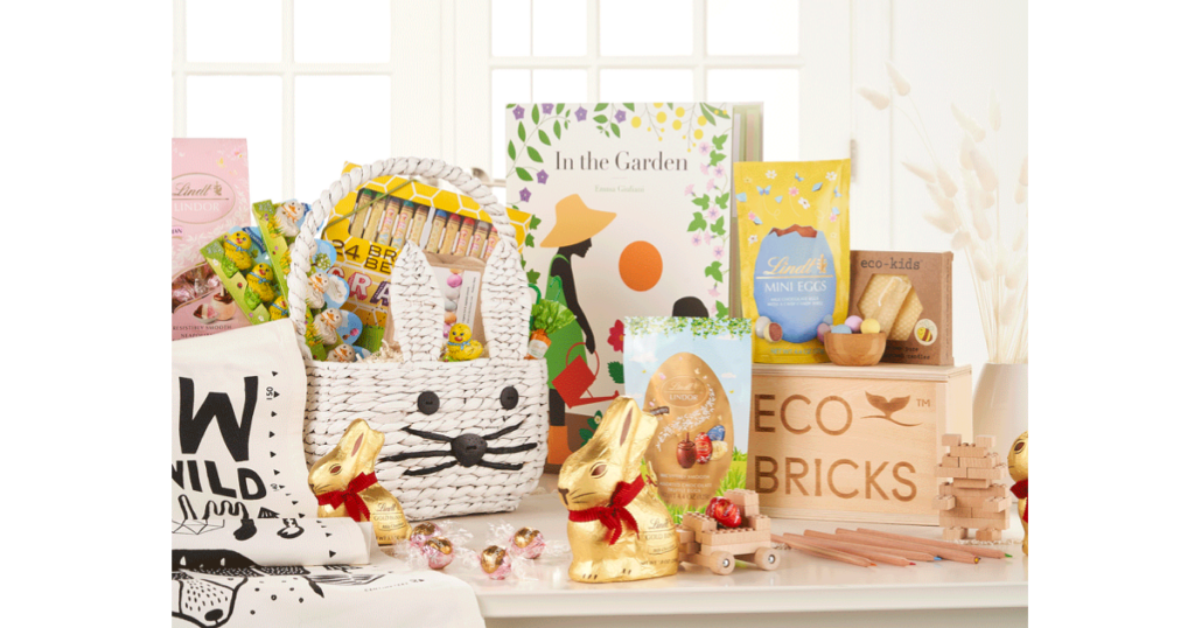 The Ultimate Easter Basket with Lindt GOLD BUNNY And Crate and Kids Giveaway