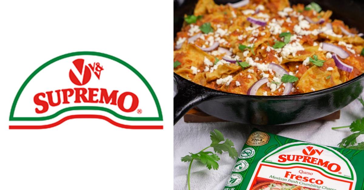 V and V Supremo Food Lent Promotion