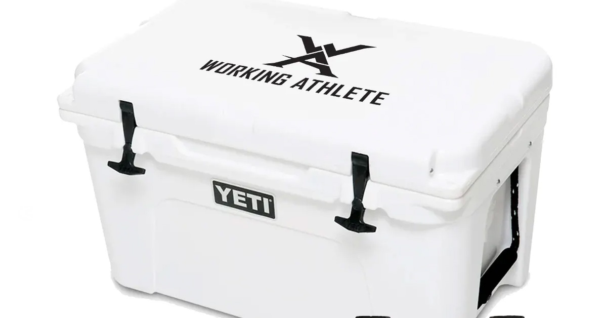 Working Athlete YETI Cooler Giveaway