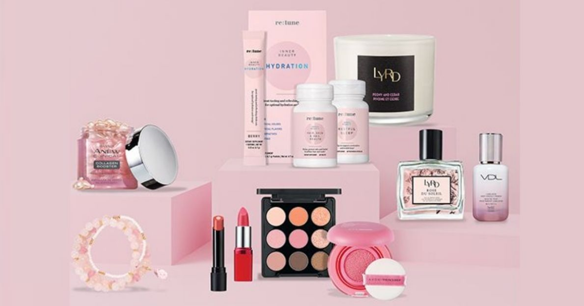 Avons April Perfectly Pink Sweepstakes