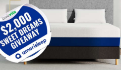 Bob Vilas $2K Sweet Dreams Giveaway With Amerisleep