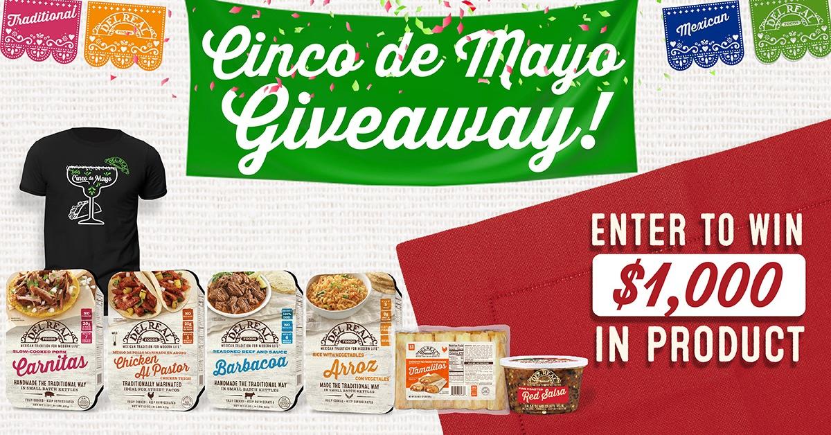 Del Real Foods Cinco de Mayo Giveaway