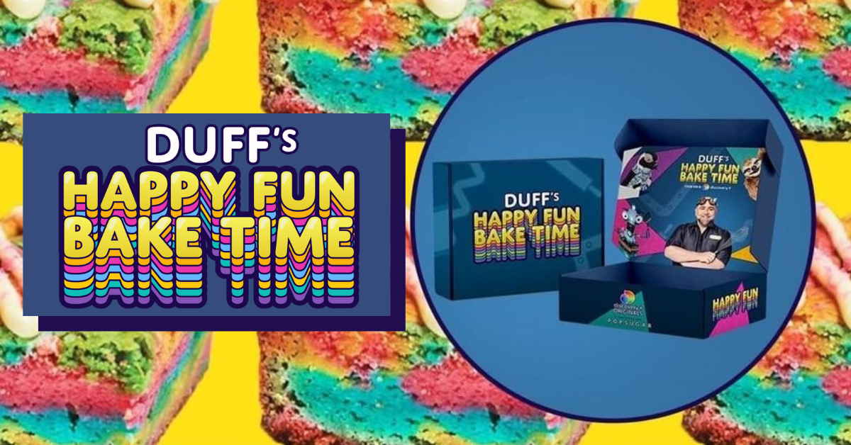 Duffs Happy Fun Bake Time BOXd Sweepstakes