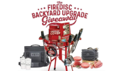 FIREDISC Backyard Upgrade Giveaway