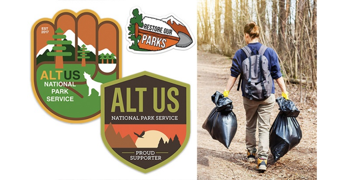 FREE Alt National Park Service Clean Up Kit
