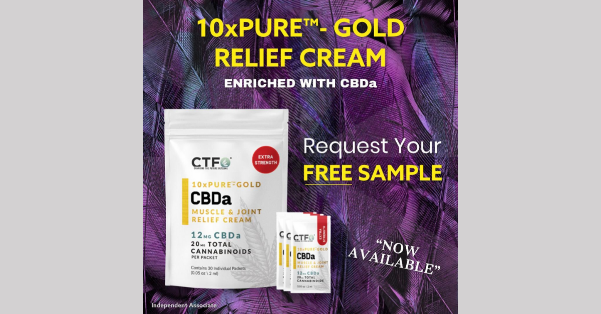 FREE CBDa Muscle And Joint Relief Cream Sample