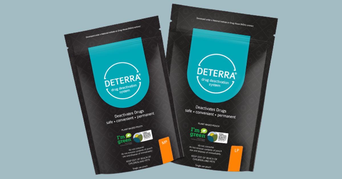 FREE Deterra Drug Deactivation And Disposal Pouches