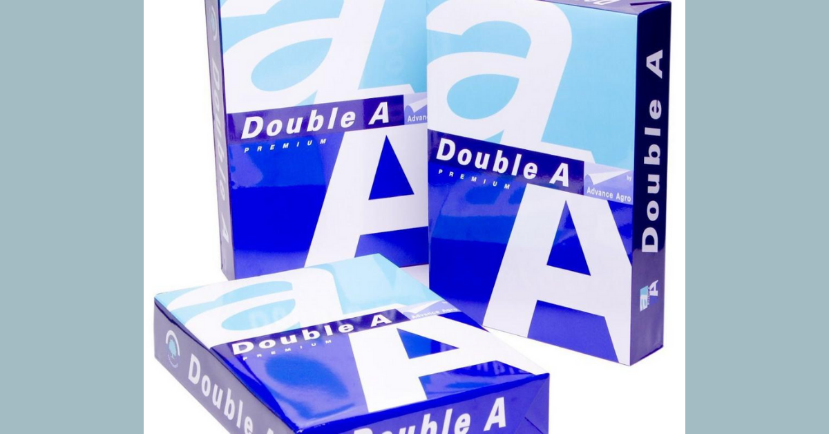 FREE Double A Paper Sample