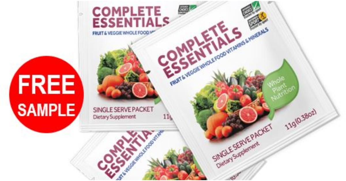 FREE Optivida Complete Essentials 3 Day Sample Pack