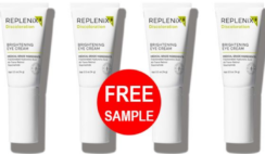 FREE Sample of Replenix Brightening Eye Cream