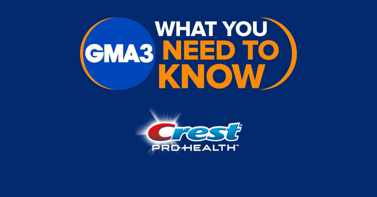 GMA3 And Crest Giveaway