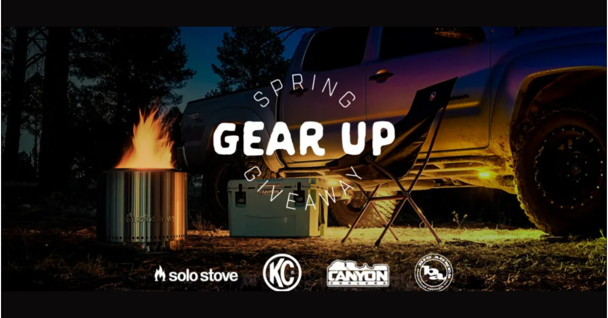 Gear Up Spring Giveaway