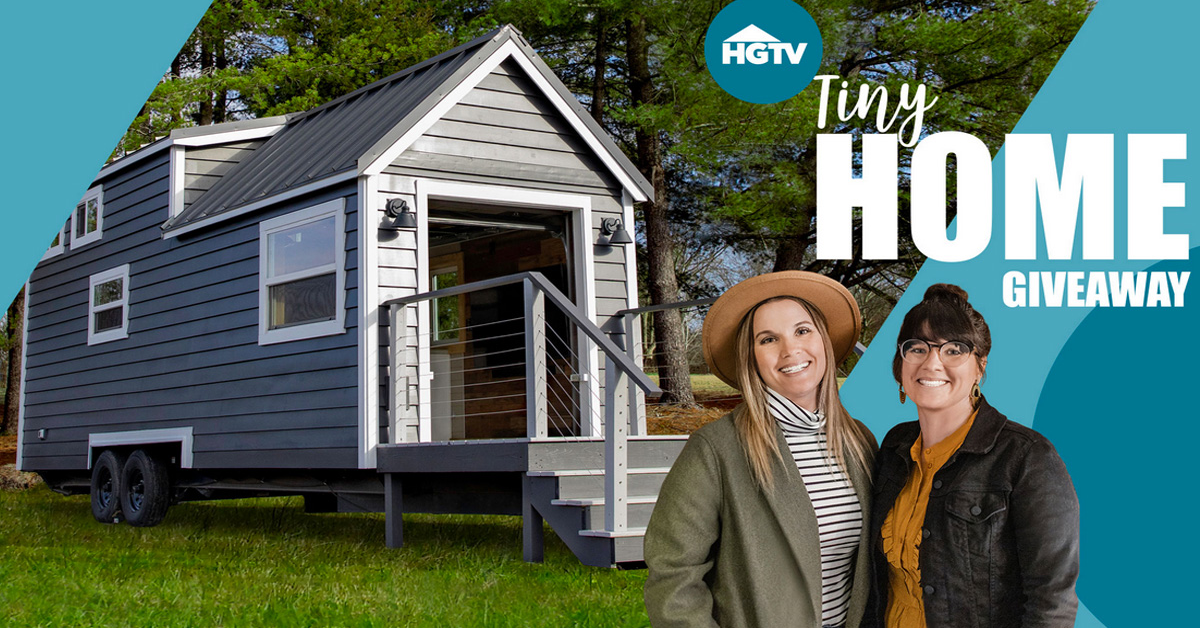 HGTV Tiny Home Giveaway