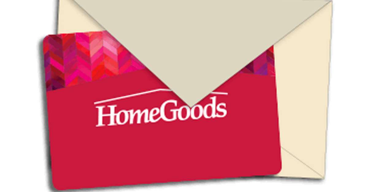 Home Goods Gift Card Giveaway
