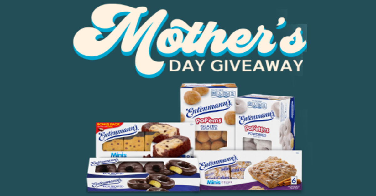Mothers Day Giveaway with Entenmanns And Visit Myrtle Beach Sweepstakes