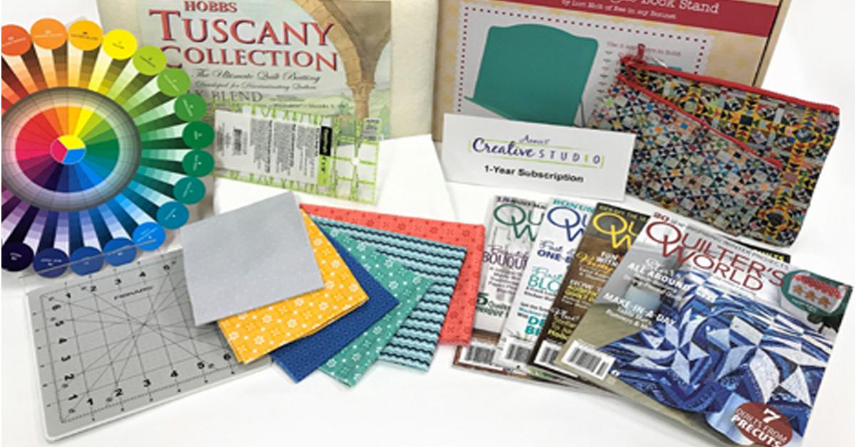 Nancys Beginner Quilt Giveaway Box