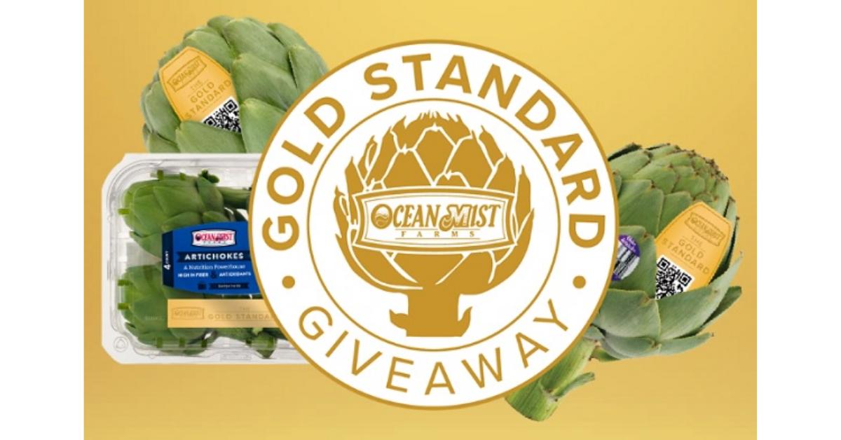 Ocean Mist Gold Standard Giveaway