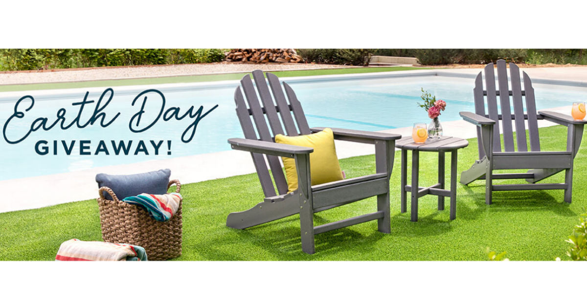 POLYWOOD Earth Day Giveaway