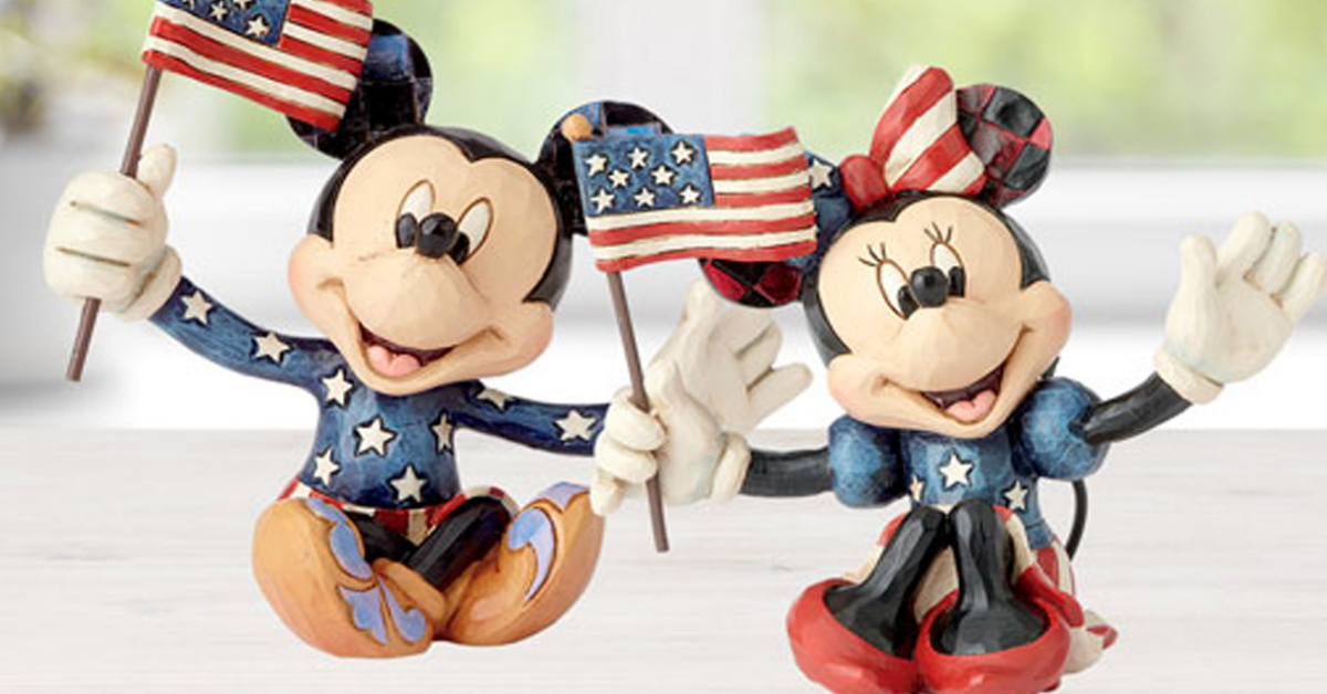 Patriotic Mickey and Minnie Mouse Giveaway