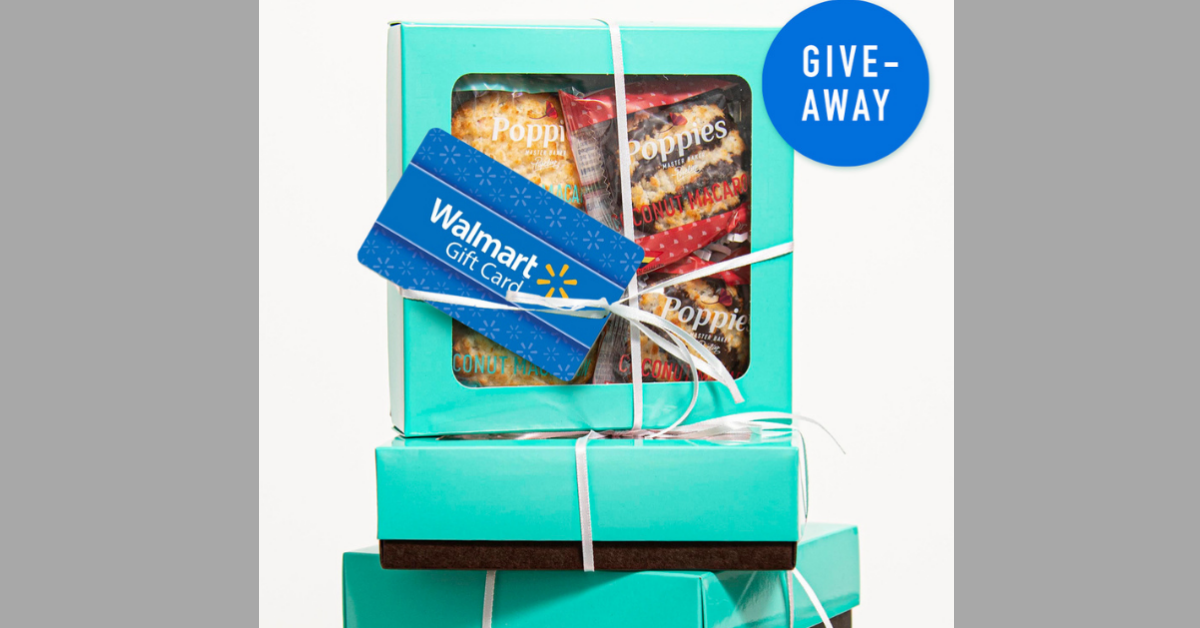 Poppies Walmart Gift Card And Macarons Giveaway