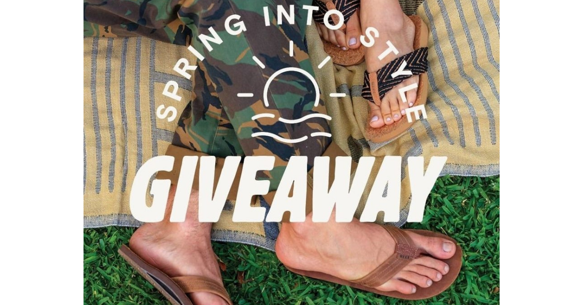 REEF Spring Into Style Giveaway