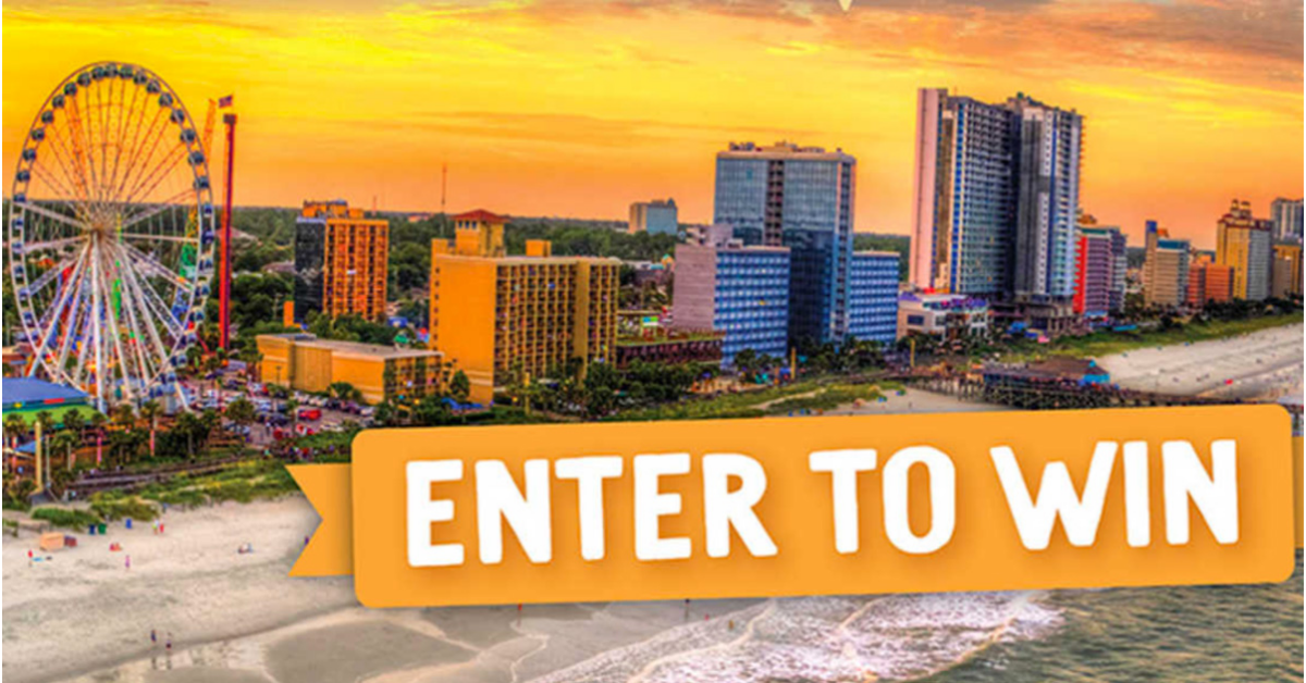 Rowdy Energy Myrtle Beach Vacation Giveaway
