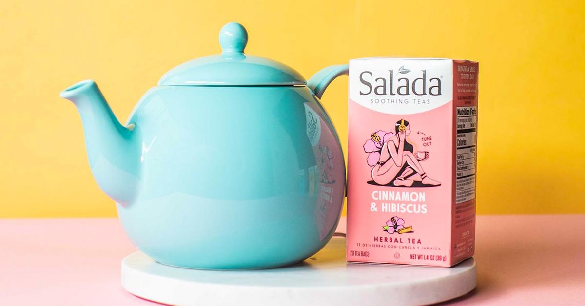 Salada Tea Pot Giveaway