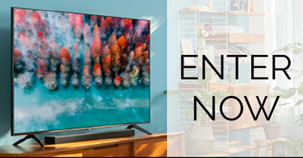 Samsung Smart TV Giveaway