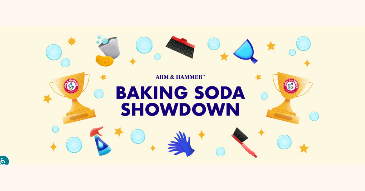 The ARM And HAMMER Baking Soda Showdown Sweepstakes