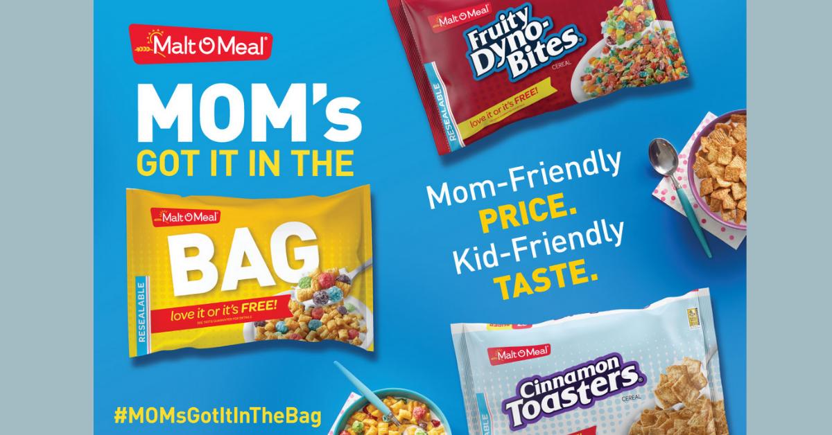 The Malt O Meal #MomsGotitintheBag Contest