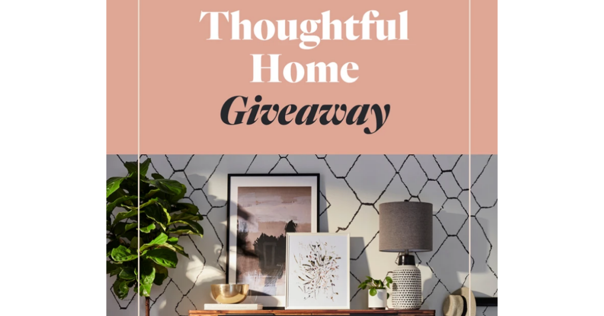 Thoughtful Home Giveaway