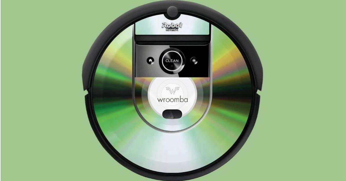 Weezer Skinned iRobot Roomba Giveaway