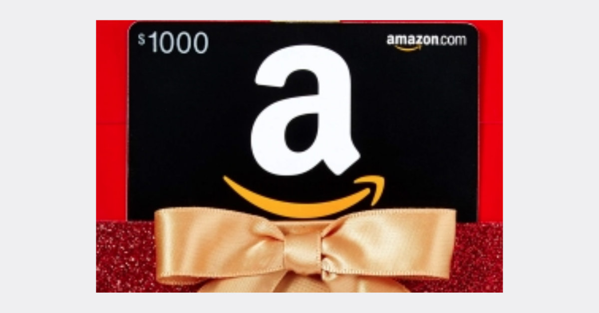 $1K Amazon Gift Card Giveaway