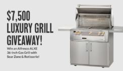 BBQGuys $7500 Luxury Gas Grill Giveaway