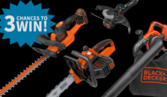 Black Decker 20V MAX Lawn And Garden Giveaway