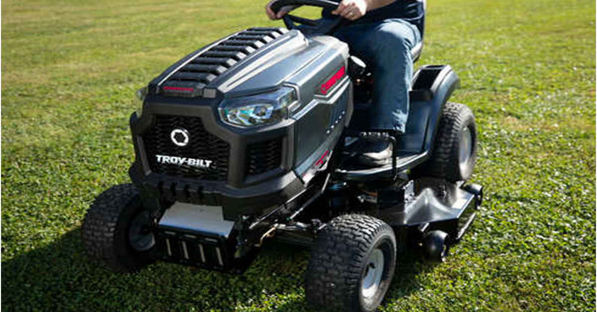 Bob Vilas $3K Riding Mower And More Giveaway with Troy Bilt