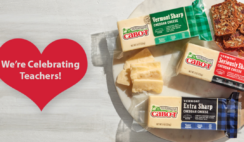 Cabot Cheese Teacher Appreciation Giveaway