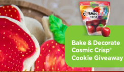 Cosmic Crisp Bake and Decorate Cookie Giveaway