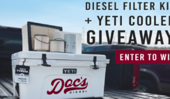 Diesel Filter Kit and YETI Cooler Giveaway