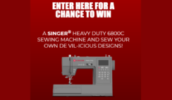 Disneys Cruella Singer Heavy Duty Machine Sweepstakes