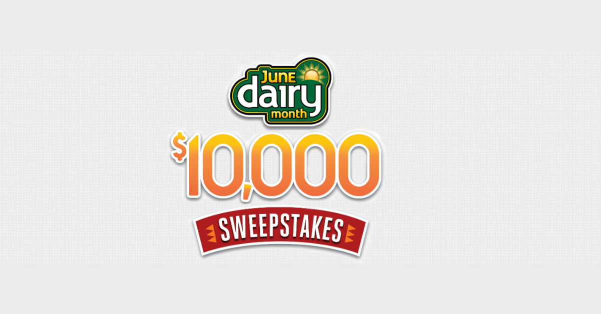 Easy Home Meals June Dairy Month $10K Sweepstakes