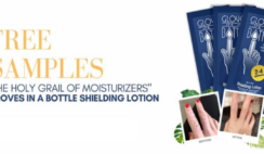 FREE Gloves In A Bottle Hand Shielding Lotion Samples