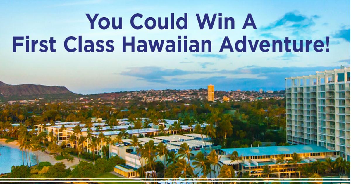 Hallmark Channels You Had Me at Aloha Sweepstakes