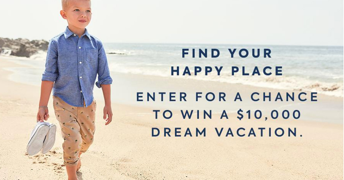 Janie and Jack Summer Family Vacation Sweepstakes