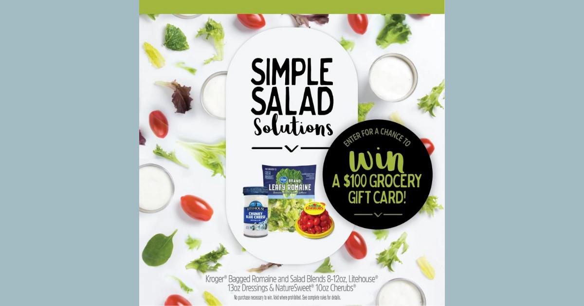 Litehouse Simple Salad Solution Sweepstakes