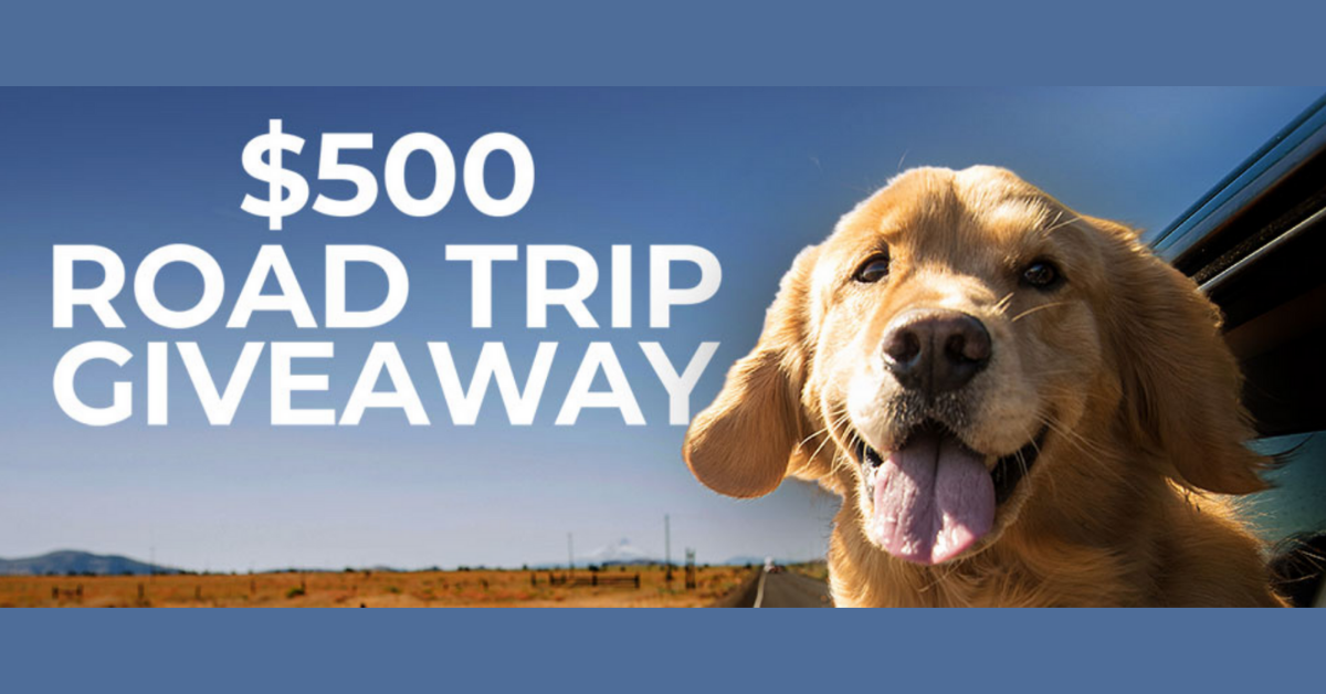 National Road Trip Day $500 Giveaway
