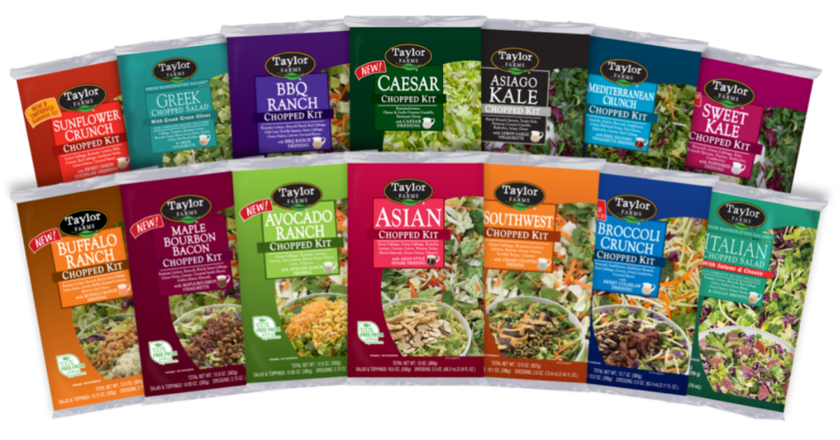 Taylor Farms Salad Month Sweepstakes