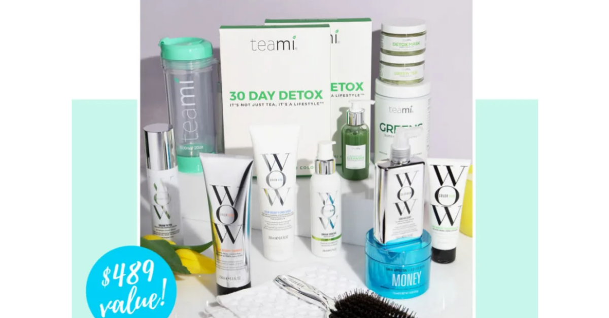 Teami x Color Wow Spring Clean Giveaway
