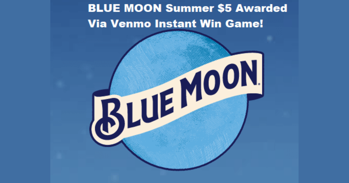 The Blue Moon Summer 2021 Instant Win Game